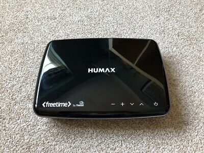 Humax HDR-1100S Satellite TV Recorder - Black - used fully working - HDD