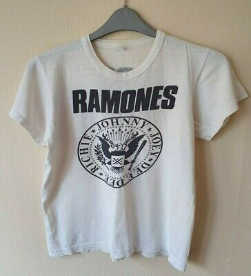 Rare Vintage Ramones Too Tough To Die Tour T-Shirt - 1985. 34 years old!