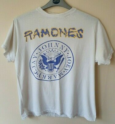 Rare Vintage Ramones Brain Drain Tour T-Shirt - 1989. 30 years old!