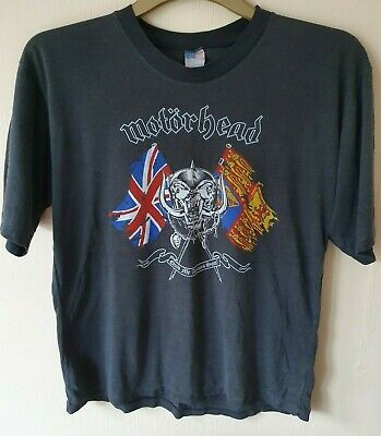 Rare Vintage Motorhead - No Sleep At All Tour T shirt - UK 1989. (30 years old!)