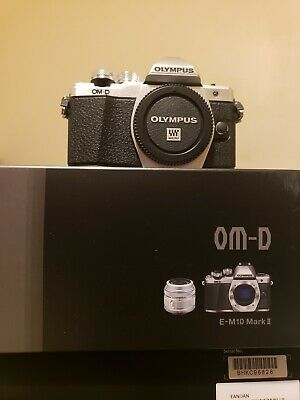 Olympus OmD E-M10 Mark II Compact Mirrorless Camera with 14-42 lens - Silver