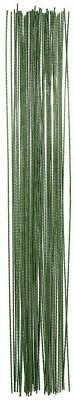 Green or White Pack of 100 Lightweight Floral Arranging Stem Wire