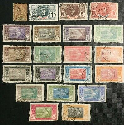 French Ivory Coast Collection Of Old Stamps, 1892-1935