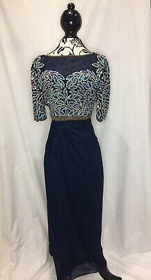 Virgos lounge embellished Vilma dress size 14 in good used condition