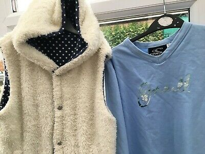 Mini Boden Oneil Girls Top & Gillet Size 13-14 Years