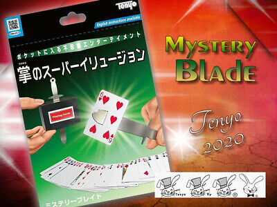 Tenyo 2020 Mystery Blade Solid Through Solid Close Up Street Magic Mint