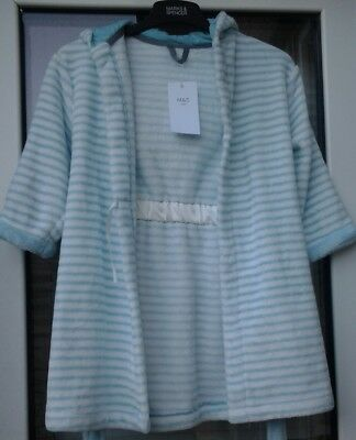 M&S Kid's Dressing Gown Age 5-6 Years NEW
