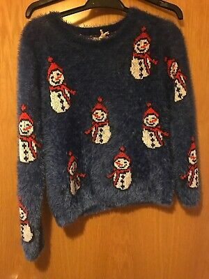 Girls Christmas Jumper  next 10 Years New