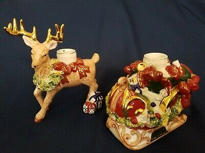 Waterford Holiday Heirloom - Sleigh Ride Candle Holder