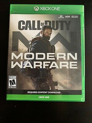 Call of Duty: Modern Warfare Standard Edition (XBOX ONE). Mint.