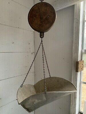 Antique Hanging Dial Grocery store Produce Scale