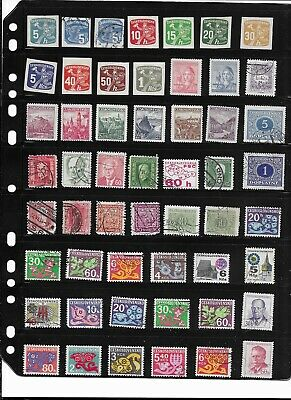 #5164  Czechoslovakia stamp collection 100+ different stamps Good mix MNH & Used