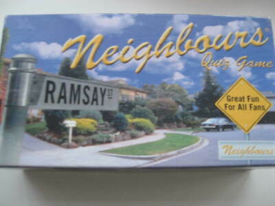 Neighbours Quiz Game Trivia Based On The Tv Show