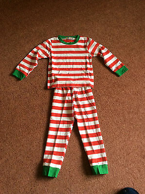 Childs Striped Pyjamas - To Fit Age 2 Years - New