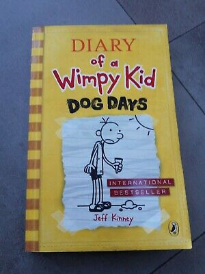 Diary Of A Wimpy Kid – Dog Days Book