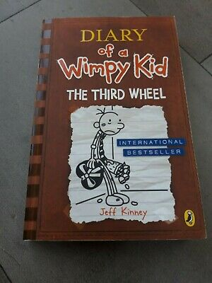 Diary Of A Wimpy Kid – The Third Wheel Book