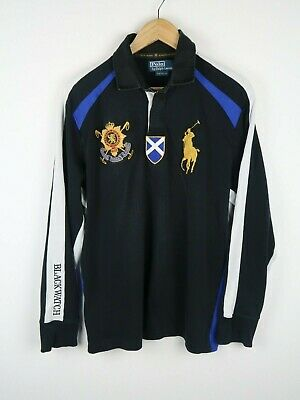 polo by ralph lauren mens rugby style shirt custom fit size large