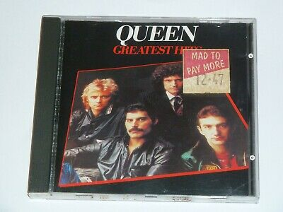 Queen Greatest Hits Original Uk Cd Album, Excellent Condition (1994)