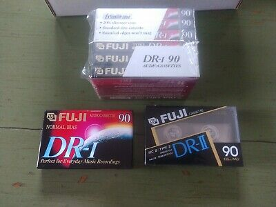 8 FUJI Audio Cassette Tapes Blanks  New In Packages