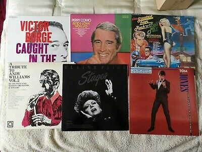 Job Lot Of Vinyl Lps....all Nice Condition