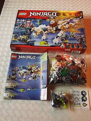 Lego Ninjago 70734, Master Wu Dragon, 100% Complete, in Excellent Condition