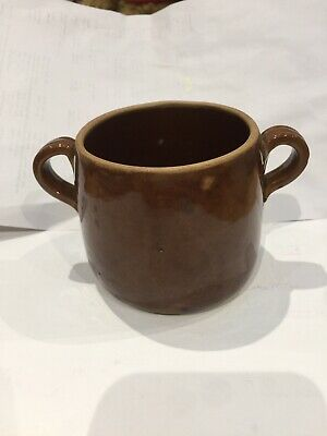 Vintage Rustic Denby Chef Ware Small Pot.
