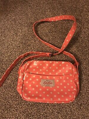 Cath Kids Pink Spotty Bag Childrens