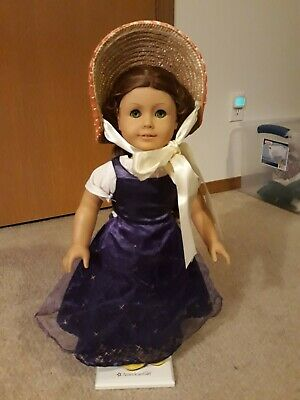 "Pleasant Company American Girl Felicity Merriman 18"" Doll Retired and book"
