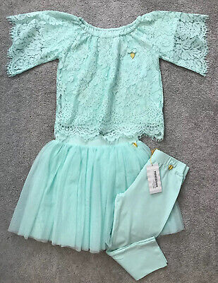 Angel's Face Mint Green 3 Piece Set Size 10-12 Years