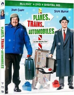 PLANES, TRAINS AND AUTOMOBILES (Blu-ray Disc & DVD) w/Slipcover, Free Ship!