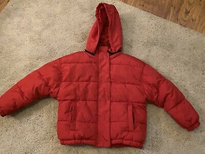 Next Red Winter Coat Boys/Girls Age 6 Years