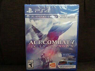 Ace Combat 7 Skies Unknown (PlayStation 4, 2019) PS4 PSVR NEW!
