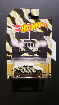 Humvee Hummer H1 Military 2/8 Camo Camouflage Series Hot Wheels Diecast 2017