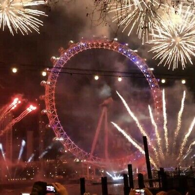 3x London NYE Fireworks RED ZONE tickets