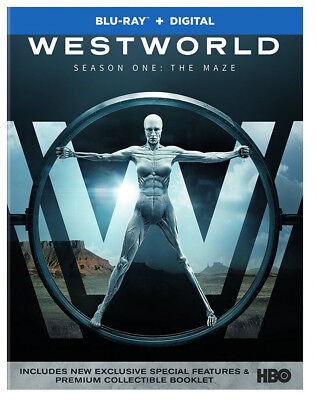 WESTWORLD Complete First Season 1 The Maze Blu-ray + Digital 2017, booklet, NEW