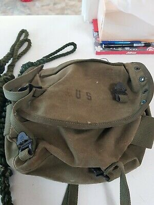 3 Toggle Ropes n a usa bum bag from 1961