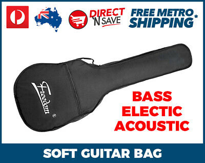 Guitar Bag Bass Electric Acoustic Full Size Gig Bag Carry Rehearsal Storage ME-0