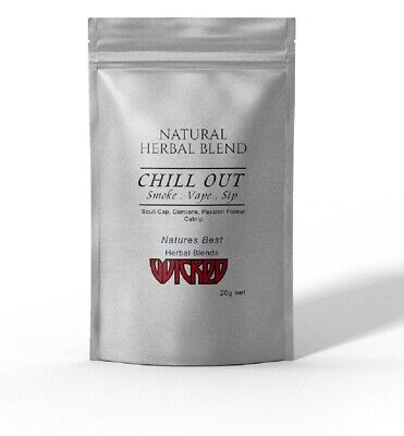 CHILL OUT -  HERBAL BLEND ~ Organic Herbal High Tea 20 grams