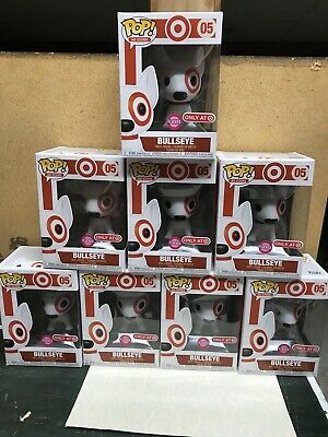 Funko Pop! Ad Icons Bullseye Flocked #05 Target Red Collar Exclusive In Hand!