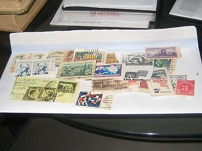 Postage stamp and Postcard Lot - Old U.S. and Foreign