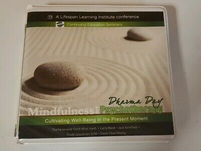 Mindfulness & Psychotherapy Lifespan Learning Institute 4 CD set Dharma Day