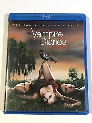 The Vampire Diaries The Complete Series 1 Season One First Blu Ray