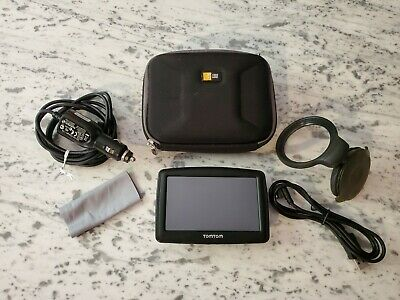 Tom Tom XL Model 4ET03 N14644 GPS With Accessories