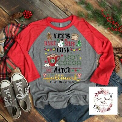 Christmas Graphic T Shirt This Is My Hallmark Movie Watching Shirt.