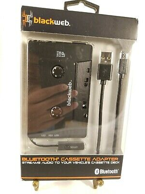 Cassette Adapter Car Bluetooth Audio Receiver
