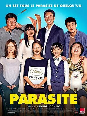 Parasite Movie 2019 48x32 24x36 Silk Poster G-132