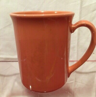 Corning Corelle  Prego Coffee Cup Mug Rose Coral #47 Retired 1987-1988