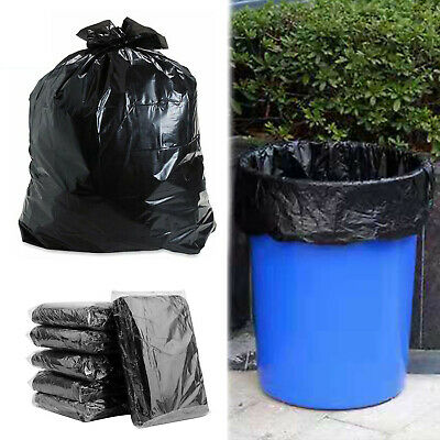New Heavy Duty Black Refuse Sacks Strong Thick Rubbish Bags Bin Liners Waste Bag