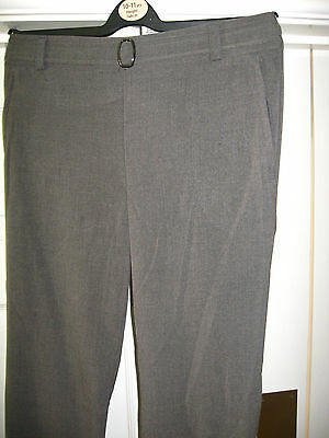 New Girls Grey School Uniform Trousers Girls Clothes Height 146 Cms Age 10 - 11