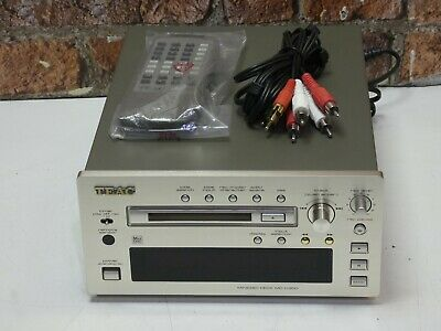 TEAC MD-H300 Reference 300 Series MiniDisc Recorder & Player + Remote Control